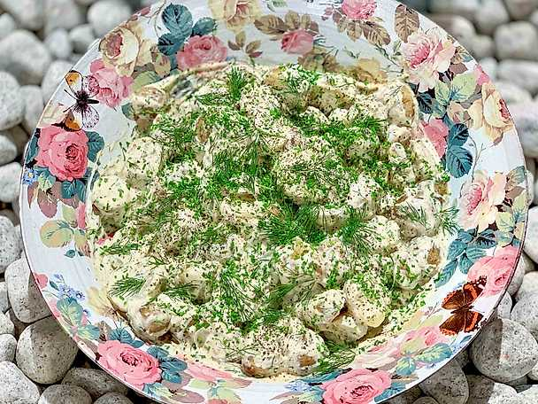 Potatissallad - Jessica Frejs recept