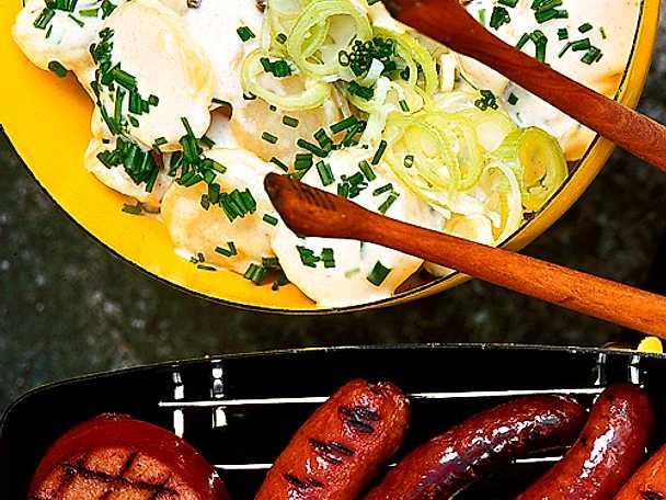 Potatissallad till grillkorven