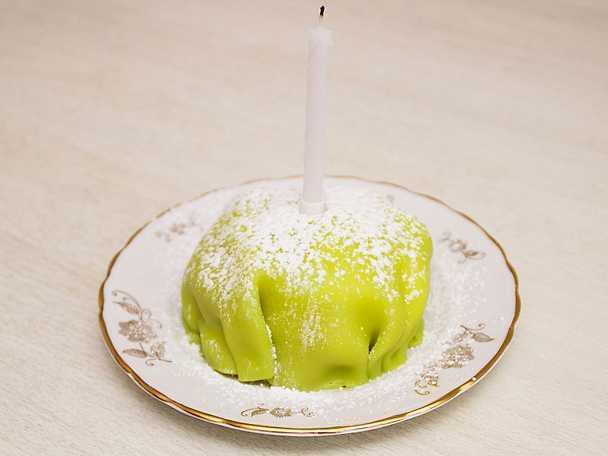 Prinstårta med lemoncurd