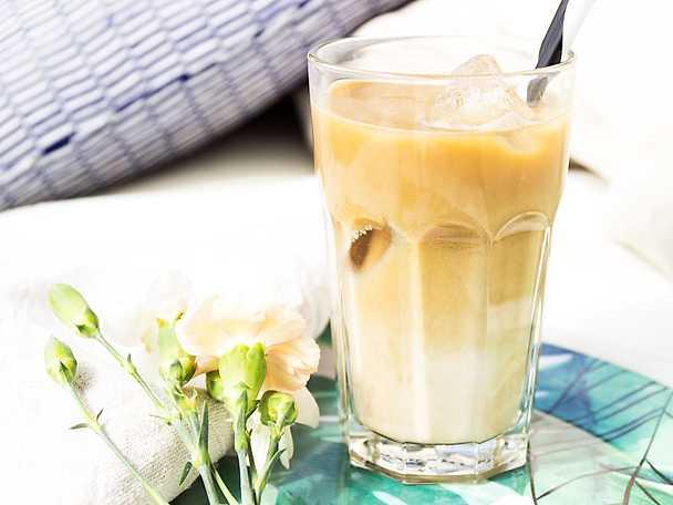 Proteinlatte med vanilj