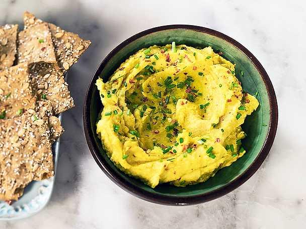 Pumpahummus, Siri Barjes recept