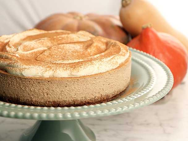 Pumpkin cheesecake, Roy Fares recept