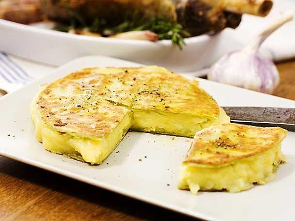 Quesadilla med potatis