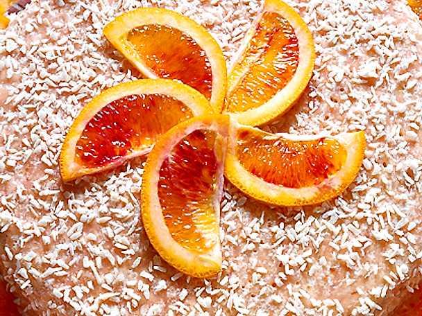 Rabarber- och apelsinfromage