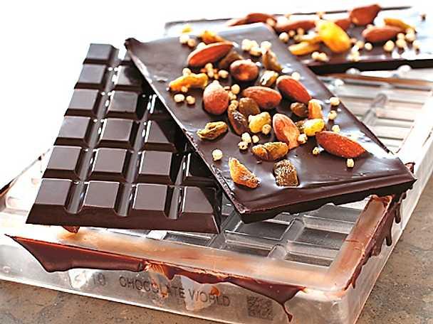 Råchokladkaka med salta mandlar