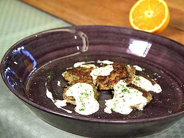 Räk- och krabbkakor med fänkål