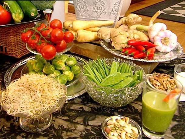 Råkostsallad med quinoa