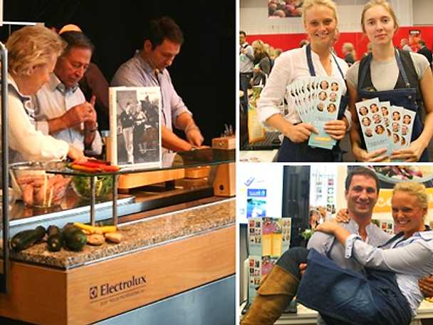 Recept.nu och la familia Roberto på plats under Bokmässan i Göteborg
