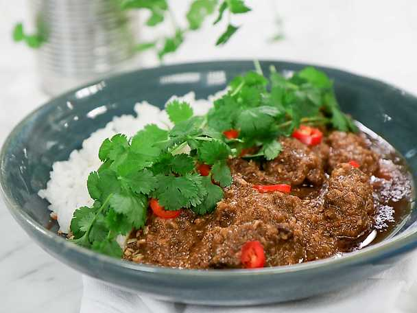 Rendang - indonesisk curry