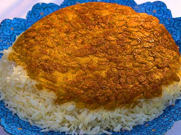 Ris med cornflakesskorpa