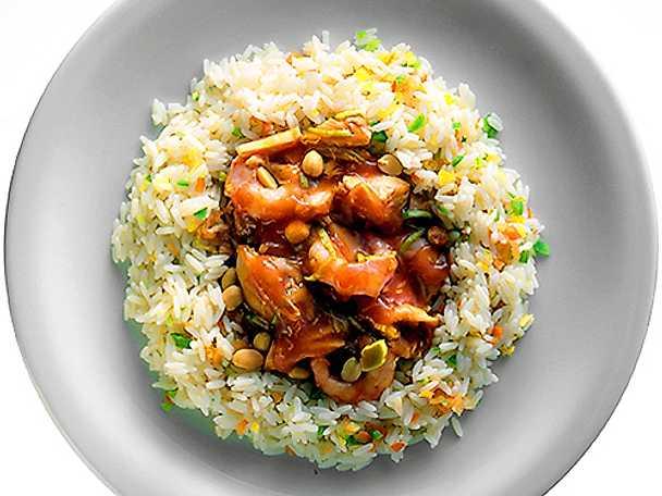 kycklingsås till ris