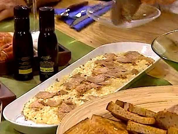 Risotto med vit Alba tryffel