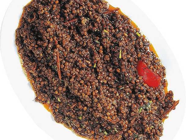 Röd linscurry med spiskummin