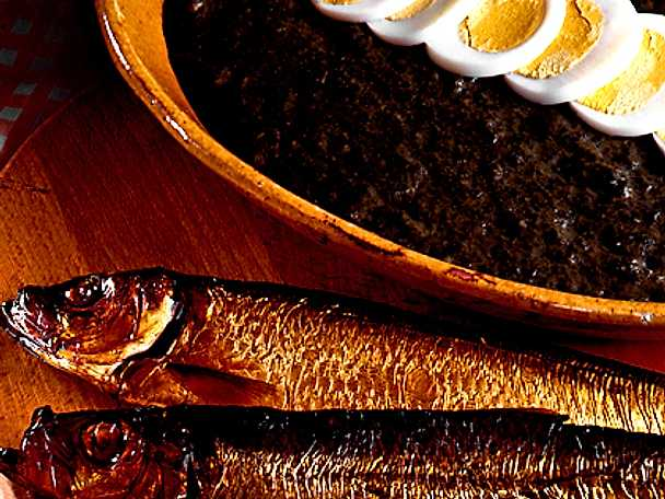 Rökt fisk med nässelröra
