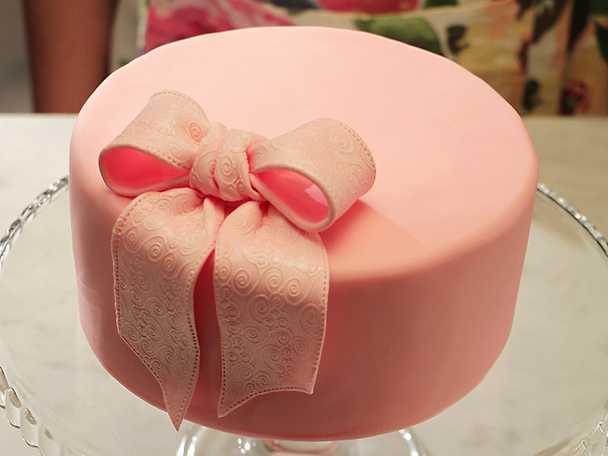 Rosett till tårta - se & gör