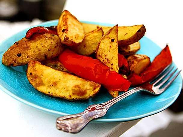 Rostad bbq-potatis