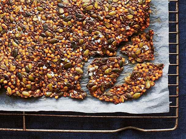 Rött linsknäcke med chili och spiskummin
