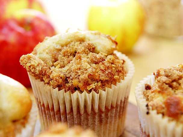 Roy Fares äppelmuffins