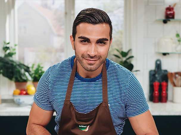 Roy Fares i köket