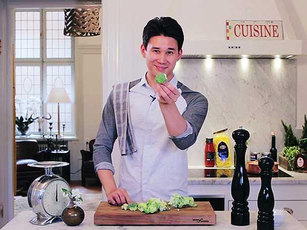 Så delar du broccoli
