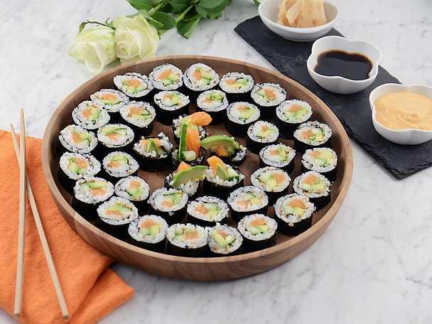 Så gör du egen sushi!