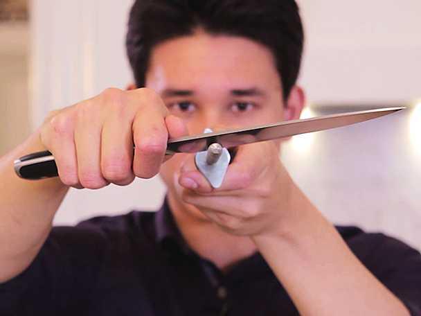 Så slipar du en kniv