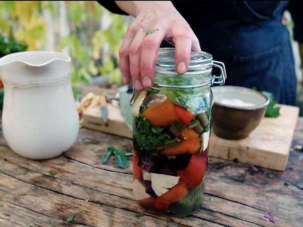 Så syrar du grönsaker