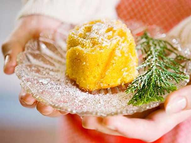 Saffran- och mandelmuffins