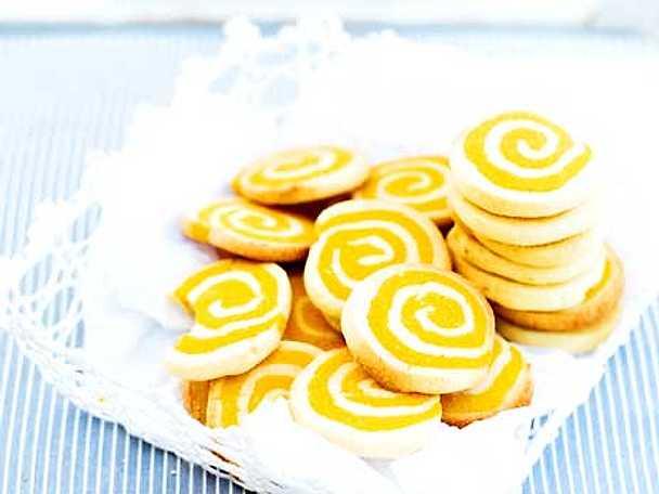 Saffranssnurror med citron