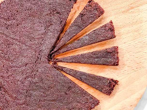 Saftig och glutenfri chokladkaka