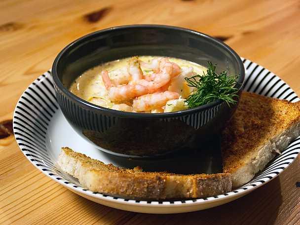 """""""Säljheas"""" krämiga fisksoppa"""