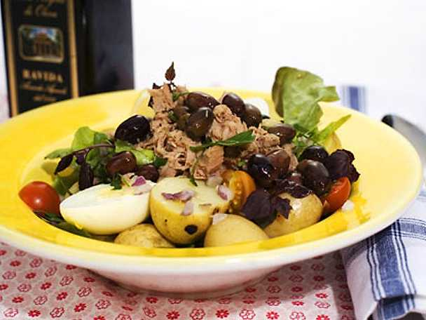 "Sallad ""Nicoise"""