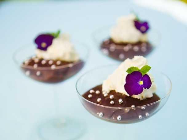 Sammetslen chokladpudding