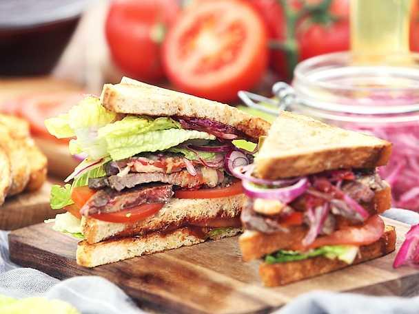 Sandwich Filip Poon Coca cola