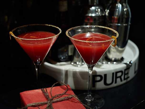 Santa's martini
