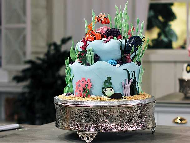 "Saras ""Hitta Nemo""-tårta"