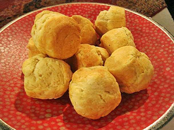 Scones i muffinsformar