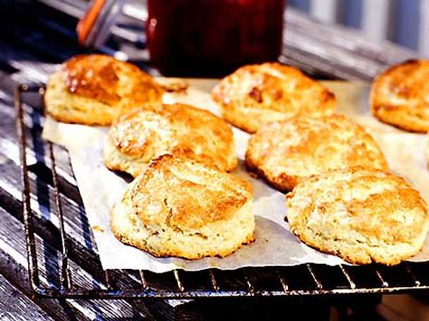 scones med filmjölk och havregryn