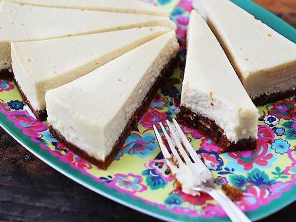 Sébastiens cheesecake från grunden