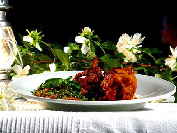 Seppie ripiene con salsa di pomodoro