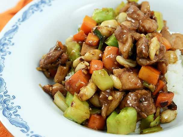 Sichuan chicken kung pao