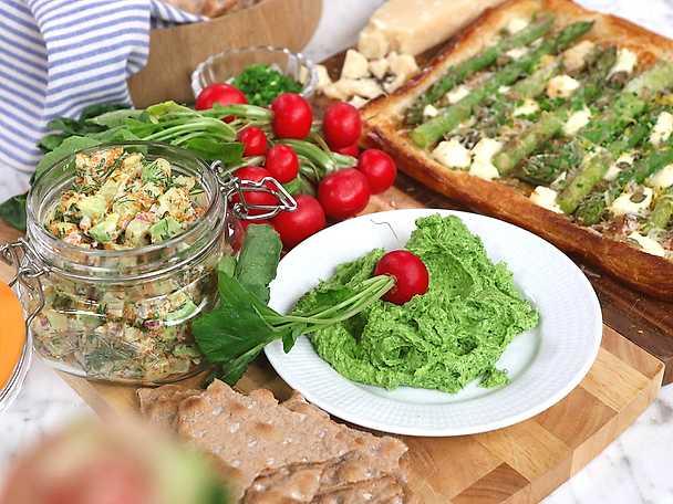 Siris vegetariska tillbehör till påsk