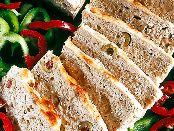 Skinkpaté med oliver