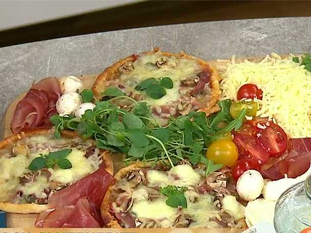 Smillas glutenfria pizza