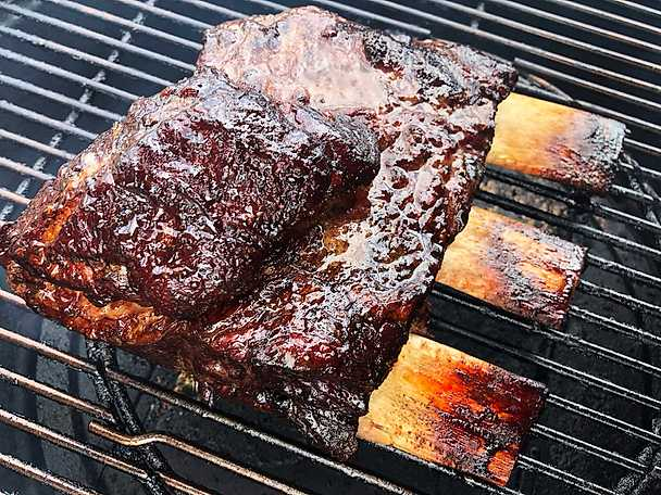 Smoked short ribs1