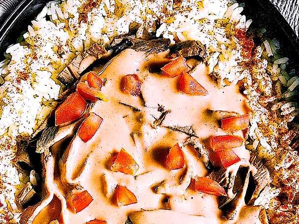 recept biff stroganoff per morberg