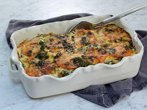 Snabb faluish-lasagne