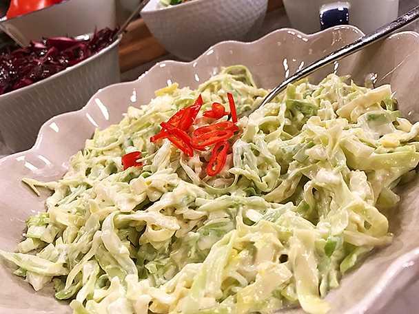 Snabb och enkel coleslaw