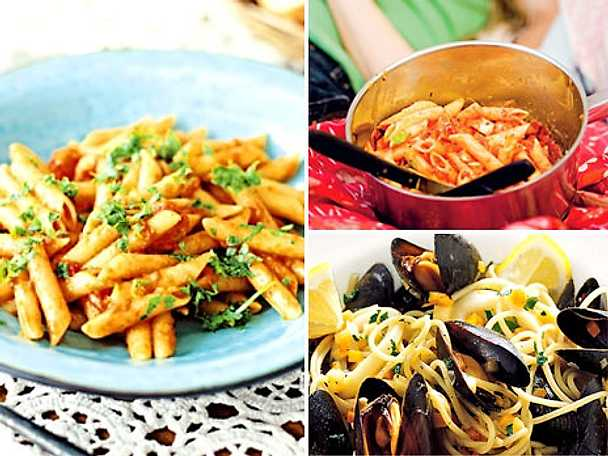 Snabba pastasåser