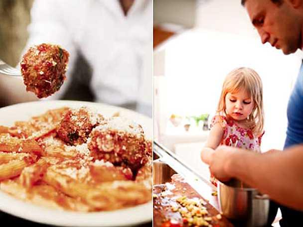 Snabbmat på italienska